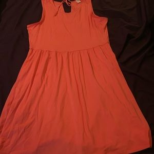 Old navy orange dress size L